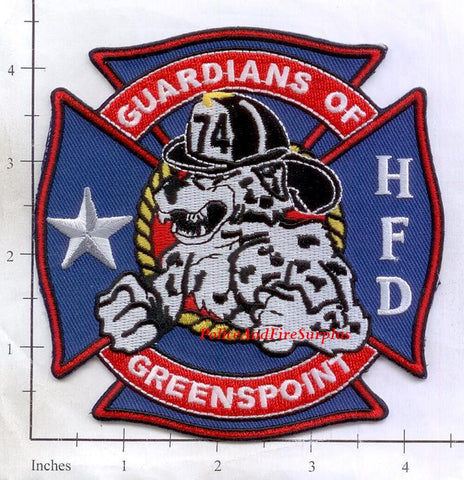 Texas - Houston Station  74 Fire Dept Patch