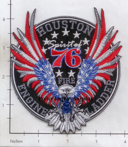 Texas - Houston Station  76 Fire Dept Patch