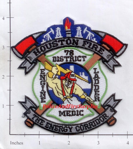 Texas - Houston Station  78 Fire Dept Patch