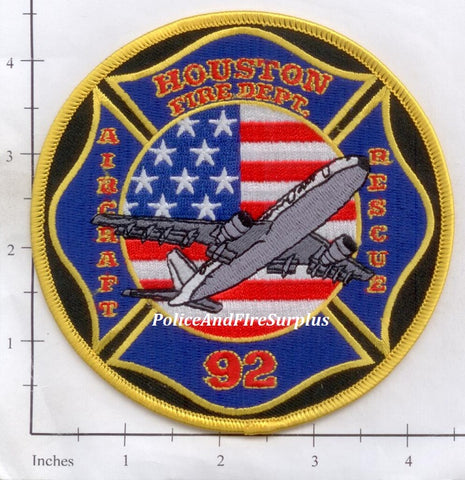 Texas - Houston Station  92 Fire Dept Patch
