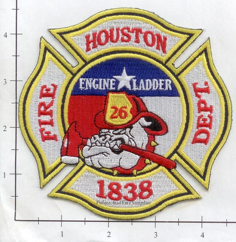 Texas - Houston Station  26 Fire Dept Patch v2