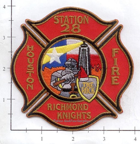 Texas - Houston Station  28 Fire Dept Patch v1