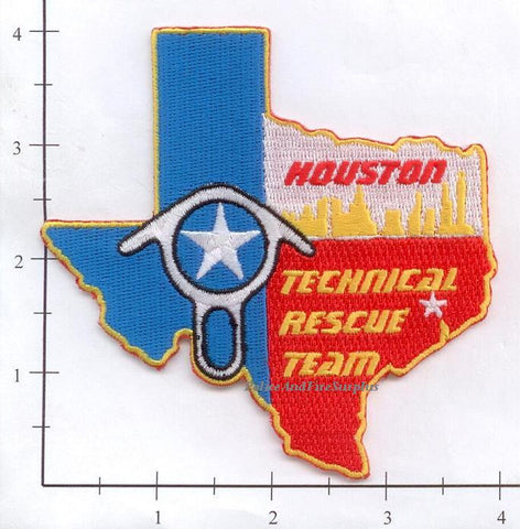 Texas - Houston Technical Rescue Fire Dept Patch