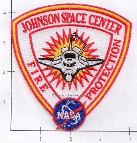 Texas - Houston Johnson Space Center Fire Dept Patch