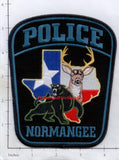 Texas - Normangee Police Dept Patch
