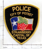 Texas - Poteet Police Dept Patch v1