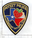 Texas - Poteet Police Dept Patch v2