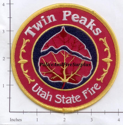 Utah - Twin Peaks Fire Patch