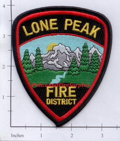 Utah - Lone Peak Fire District Patch