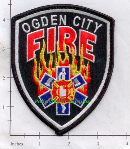 Utah - Ogden Fire Dept Patch