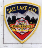 Utah - Salt Lake City Fire Dept Patch