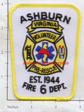Virginia - Ashburn Volunteer Fire Rescue Patch