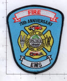 Virginia - Colonial Heights 75th Anniversary Fire Dept Patch