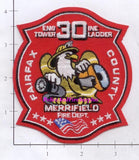 Virginia - Fairfax - Merrifield Engine 30 Ladder 30 Fire Dept Patch