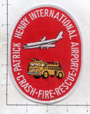 Virginia - Patrick Henry International Airport CFR Fire Dept Patch