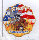 Virginia - Portsmouth Newport News Ship Yard Fire Dept Patch
