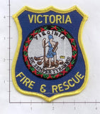 Virginia - Victoria Fire Rescue Dept Patch