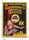 New York New Jersey - Emergency Medical Services Fire Dept Patch v1 Angel