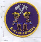 Washington - Fort Lewis Wildfire Fire Dept Patch