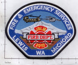 Washington - Lewis McCord Fire & Emergency Services Fire Dept Patch