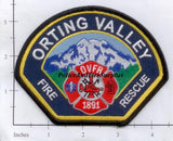 Washington - Orting Valley Fire Rescue Patch
