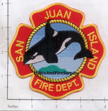 Washington - San Juan Island Fire Dept Patch