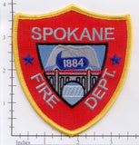 Washington - Spokane Fire Dept Patch