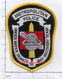 Washington DC - Underwater Search & Recovery Team Police Dept Patch