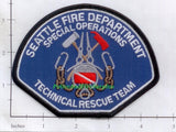 Washington - Seattle Special Operations Technical Rescue Fire Dept Patch