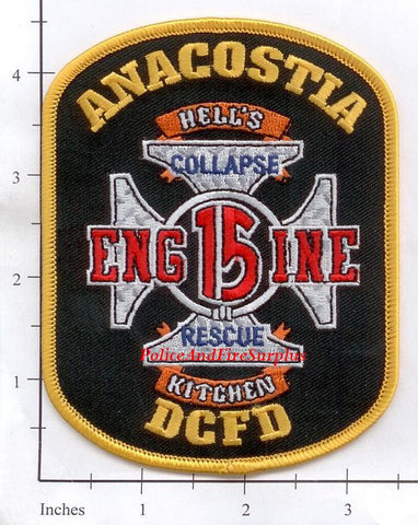 Washington DC - Engine 15 Fire Dept Patch