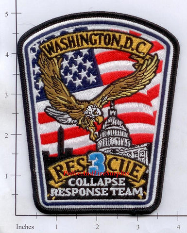 Washington DC - Rescue 3 Fire Dept Patch v1