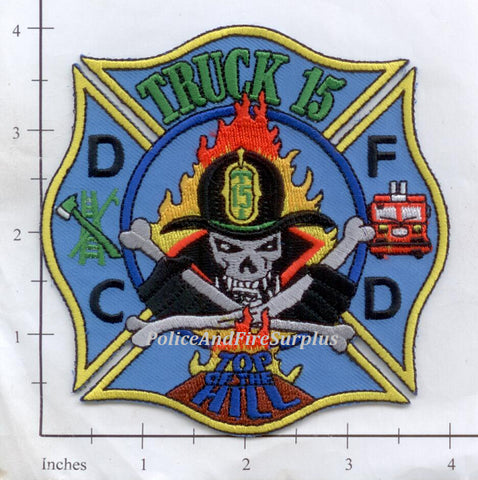 Washington DC - Truck 15 Fire Dept Patch v1