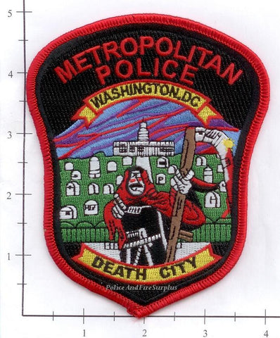 Washington DC - Washington DC Police Dept Death City Patch