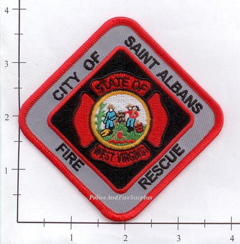 West Virginia - Saint Albans Fire Rescue Patch
