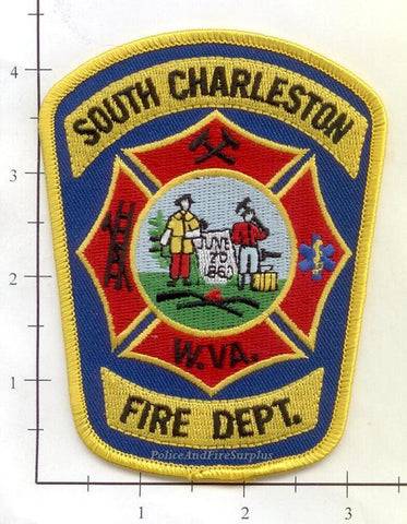 West Virginia - South Charleston Fire Dept Patch v1