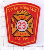 West Virginia - Tyler Mountain Fire Rescue Patch
