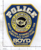 Wisconsin - Boyd Police Dept Patch v1