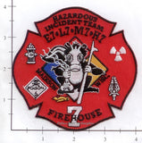 Wisconsin - Madison Firehouse Station 7 Fire Dept Patch