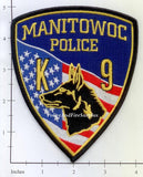 Wisconsin - Manitowoc K-9 Police Dept Patch
