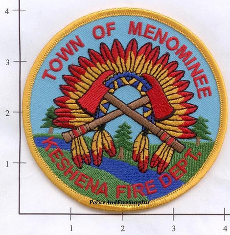 Wisconsin - Menominee Keshena Fire Dept Patch