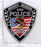 Wisconsin - Mount Horeb K-9 Police Dept Patch