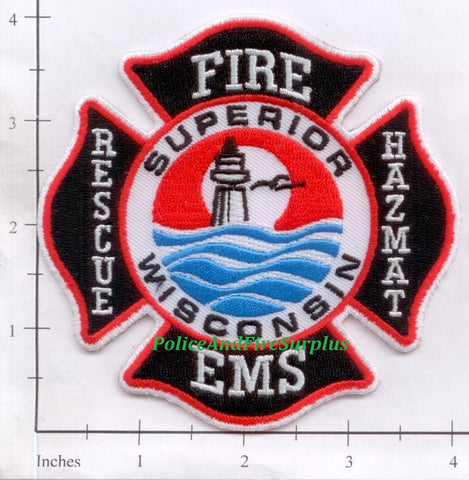 Wisconsin - Superior Fire Dept Patch