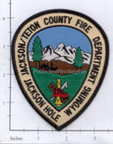 Wyoming - Jackson Hole / Teton County Fire Dept Patch