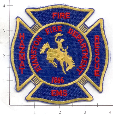 Wyoming - Evanstown Fire Dept Patch v1