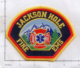 Wyoming - Jackson Hole Fire EMS Fire Dept Patch
