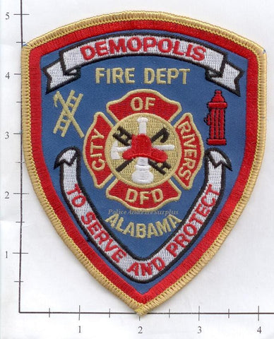 Alabama - Demopolis Fire Dept Patch