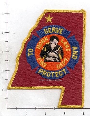 Alabama - Horn Lake Fire Dept Patch