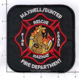 Alabama - Maxwell / Gunter Air Force Base Fire Dept Patch