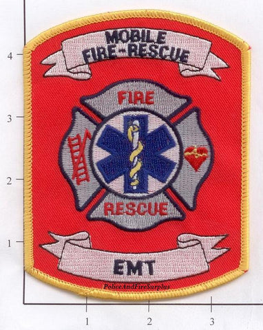 Alabama - Mobile Fire Rescue EMT Fire Dept Patch