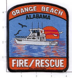 Alabama - Orange Beach Fire & Rescue Service Patch